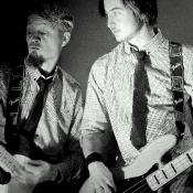 Mark & Liam B&W
